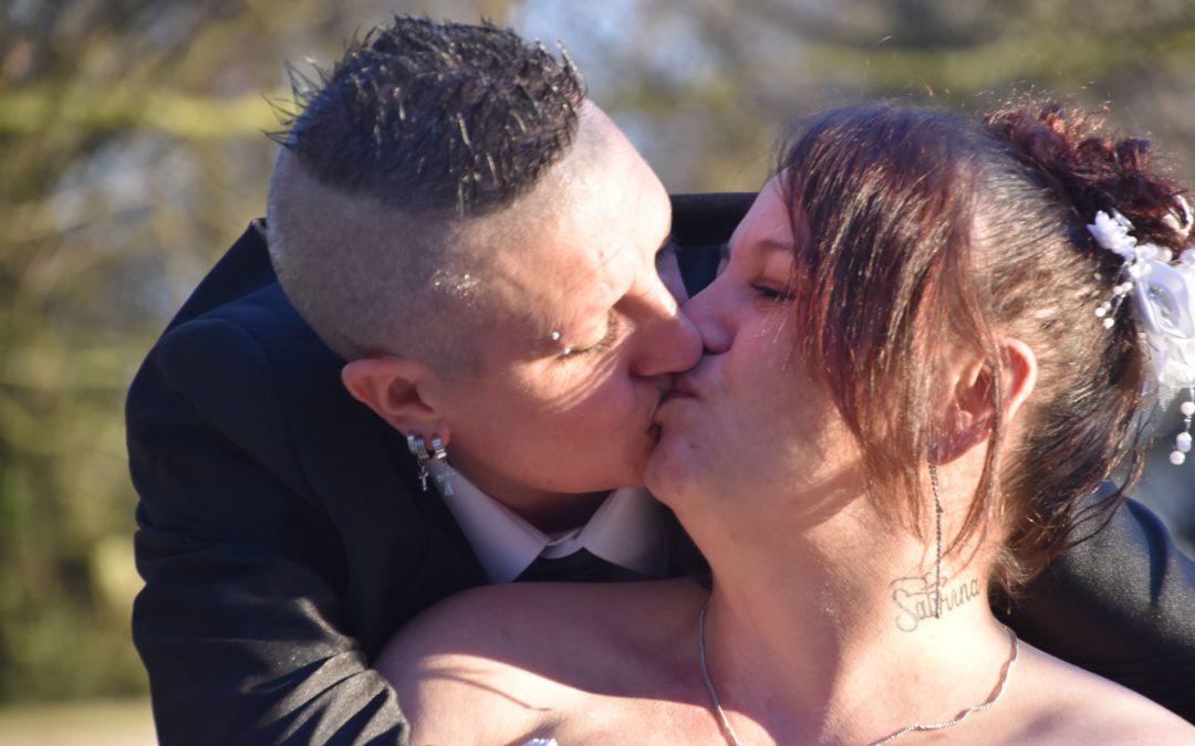 14 février 2019 Lynda et Sarah…. Cupidon est encore passé par là!
